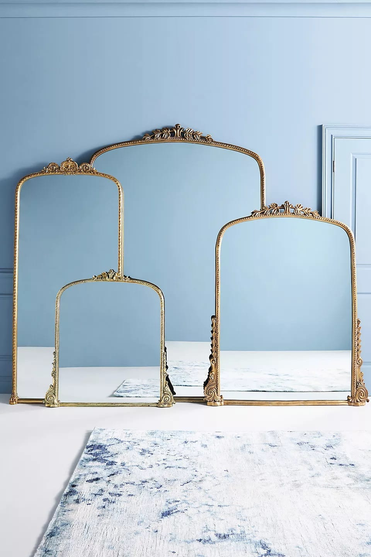 Gleaming Primrose Mirror - Oversized Arching Floor Mirror