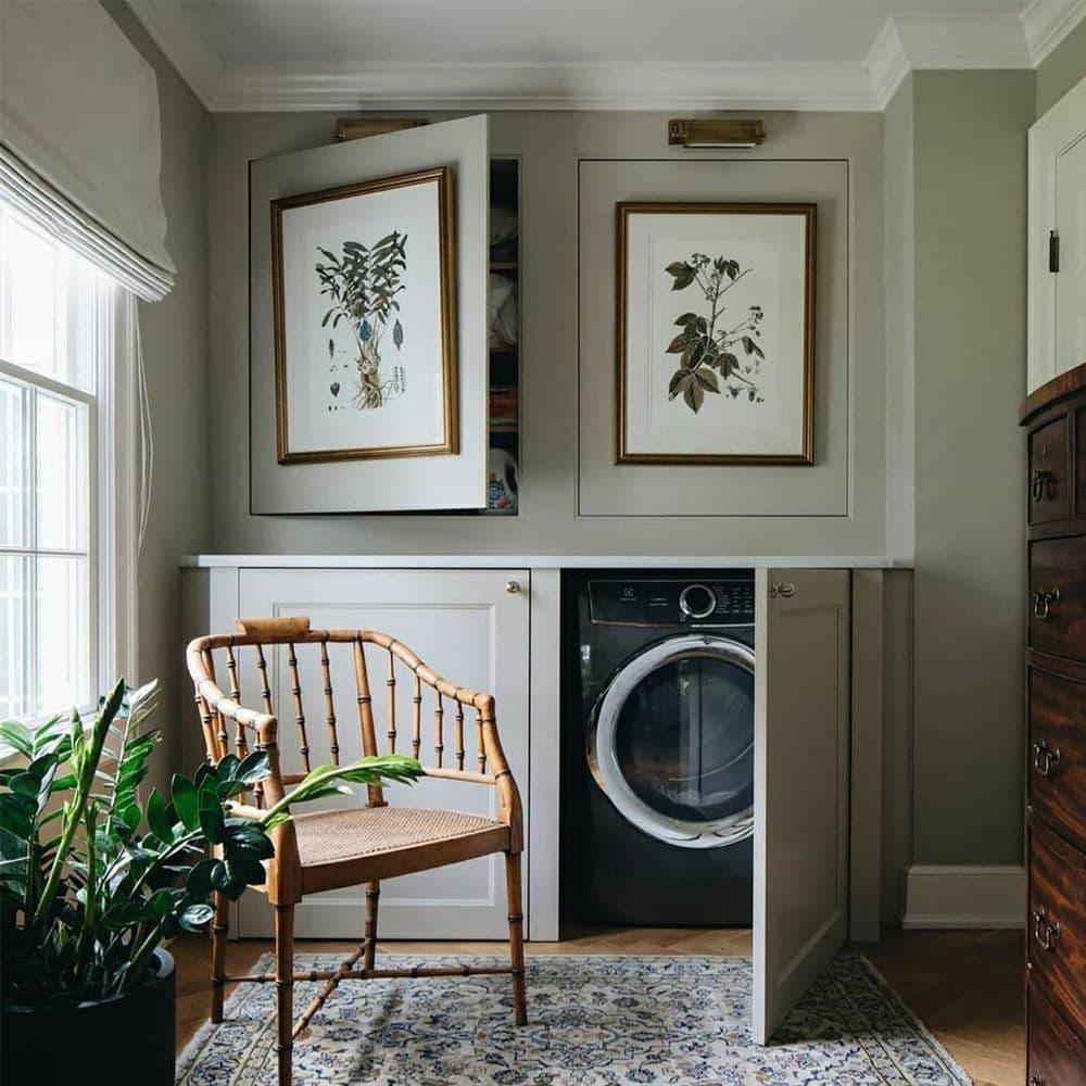 jean stoffer hidden laundry room